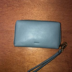 Women's Emma RFID Smartphone Zip Around Wallet